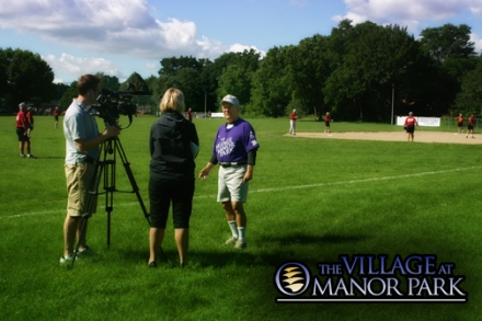The Village at Manor Park Super Senior Softball and Fox 6 News - Milwaukee, WI