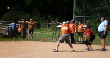 The Village at Manor Park Super Senior Softball - Batting