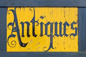 Antiques - Sign